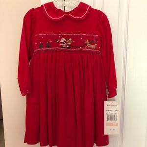 New with tags never wore girls Christmas dress.